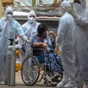 INDIA'S TERRIBLE PANDEMIC GRIEF